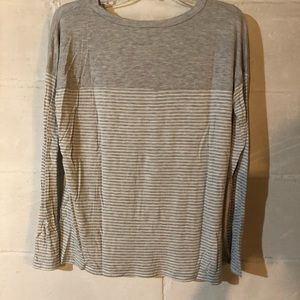 Zenana Outfitters striped long sleeve tee
